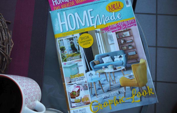 Sonntagslektüre für entspannte Stunden auf dem Balkon # HOME Made