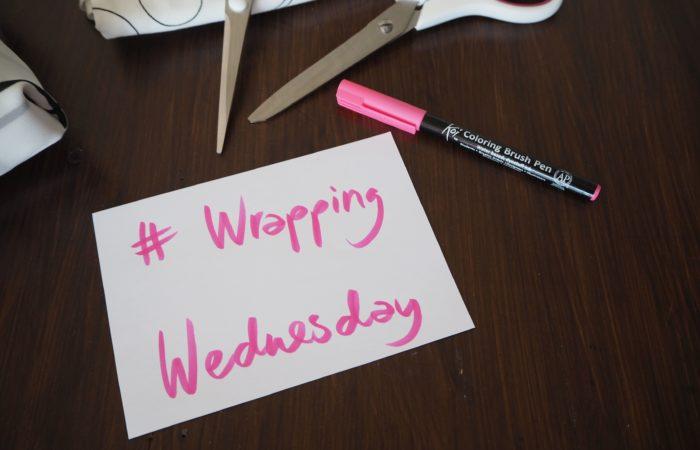 Wrapping Wednesday # Geschenke in Stoffresten und Filz verpacken