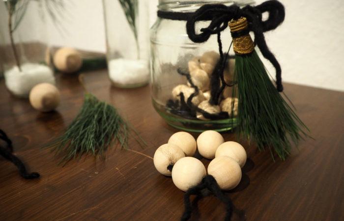 Xmas in a Jar #10: Kugelrunde Serviettenringe
