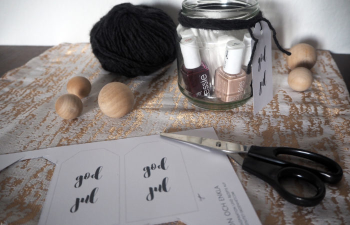 Xmas in a Jar #12: Spa-Moment mit Nails-Special