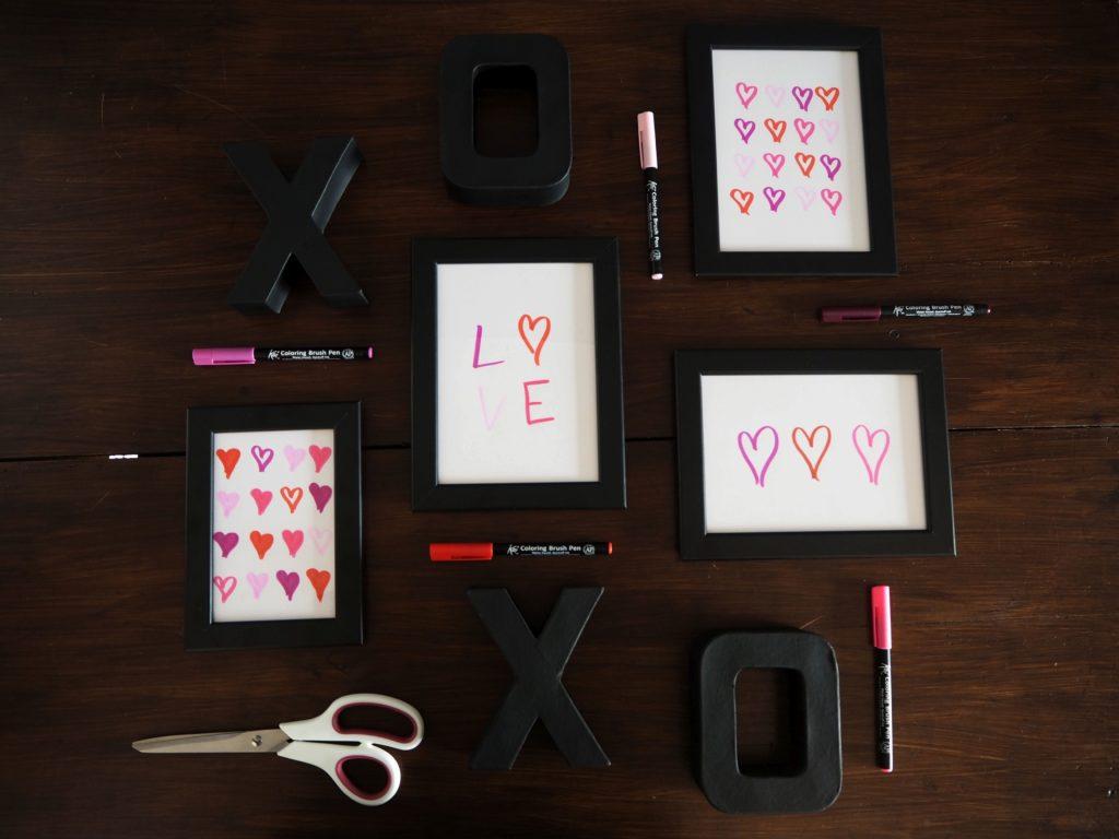 2017-skoen-och-kreativ-valentinstag-wandgestaltung-love-in-frames-brushpen (6)