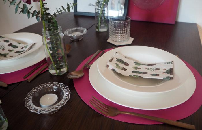 Tischdekoration # Romantic Dinner for Two