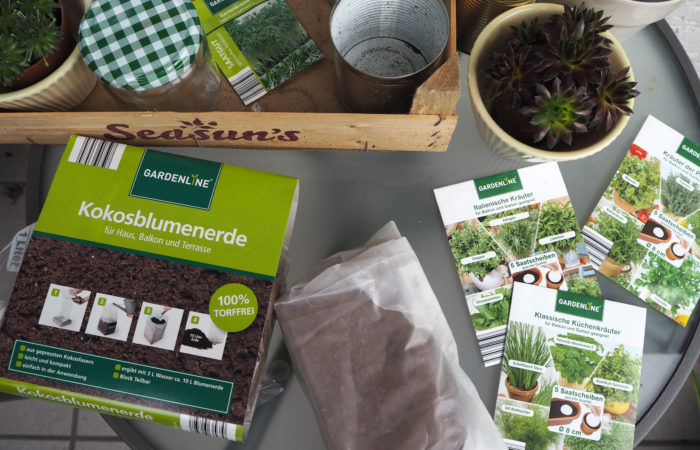 Frühling im Kopf – Upcycling für einen Kräutergarten