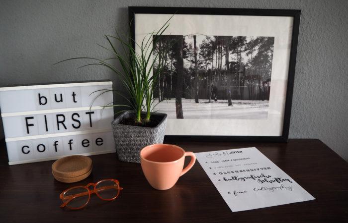 {DIY} Lettering – Eine Einführung