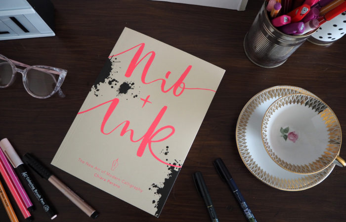 Sonntagslektüre im Juli # Nib+Ink (Modern Calligraphy)