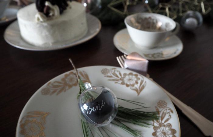 {DIY} Minimalistische Tischdekoration im Advent