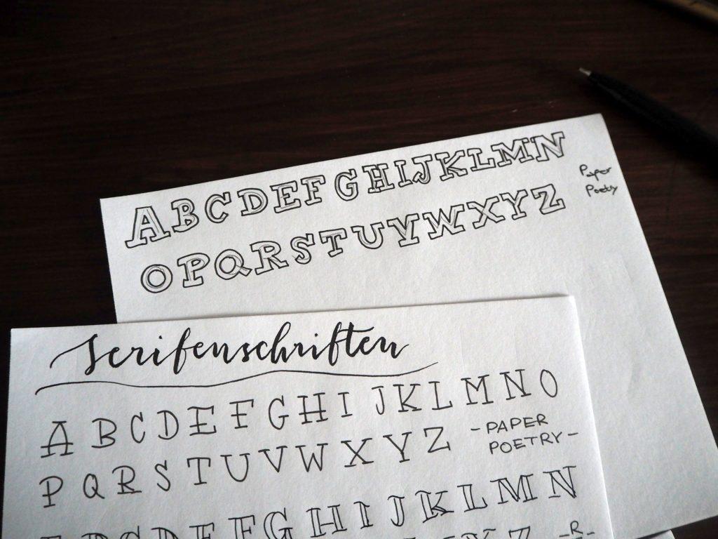 2017-11-skoen-och-kreativ-sonntagslektuere-november-hand-lettering-alphabete-frau-hoelle-buch (7)