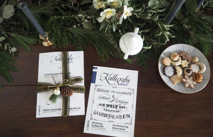 Sonntagslektüre im Dezember # Kalligrafie aktuell