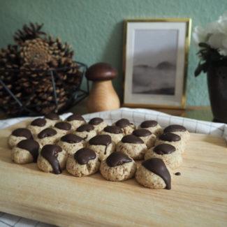 {FOOD} Cake & Cookie Love: Mokka-Mandel-Küsschen