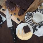 {FOOD} Oreo-Brownie mit Blaubeeren