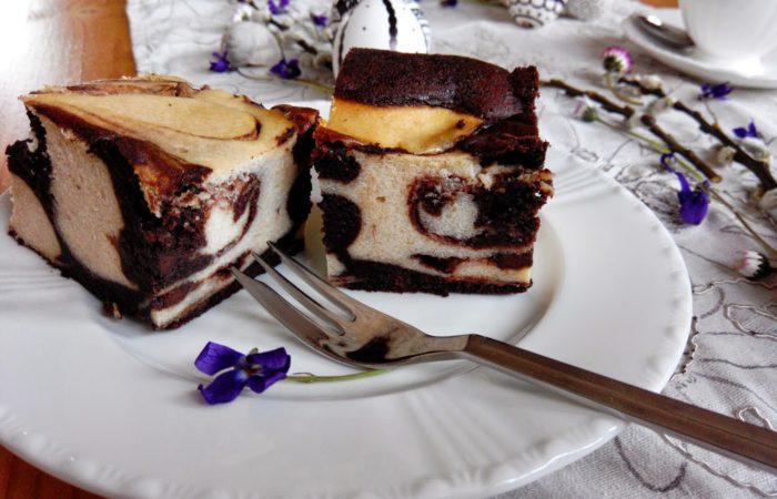 Geschützt: Marmorierter Cheesecake + Happy Easter # Black n White