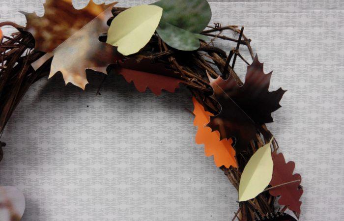 Ein neues Gewand – Ein Kranz für den Herbst