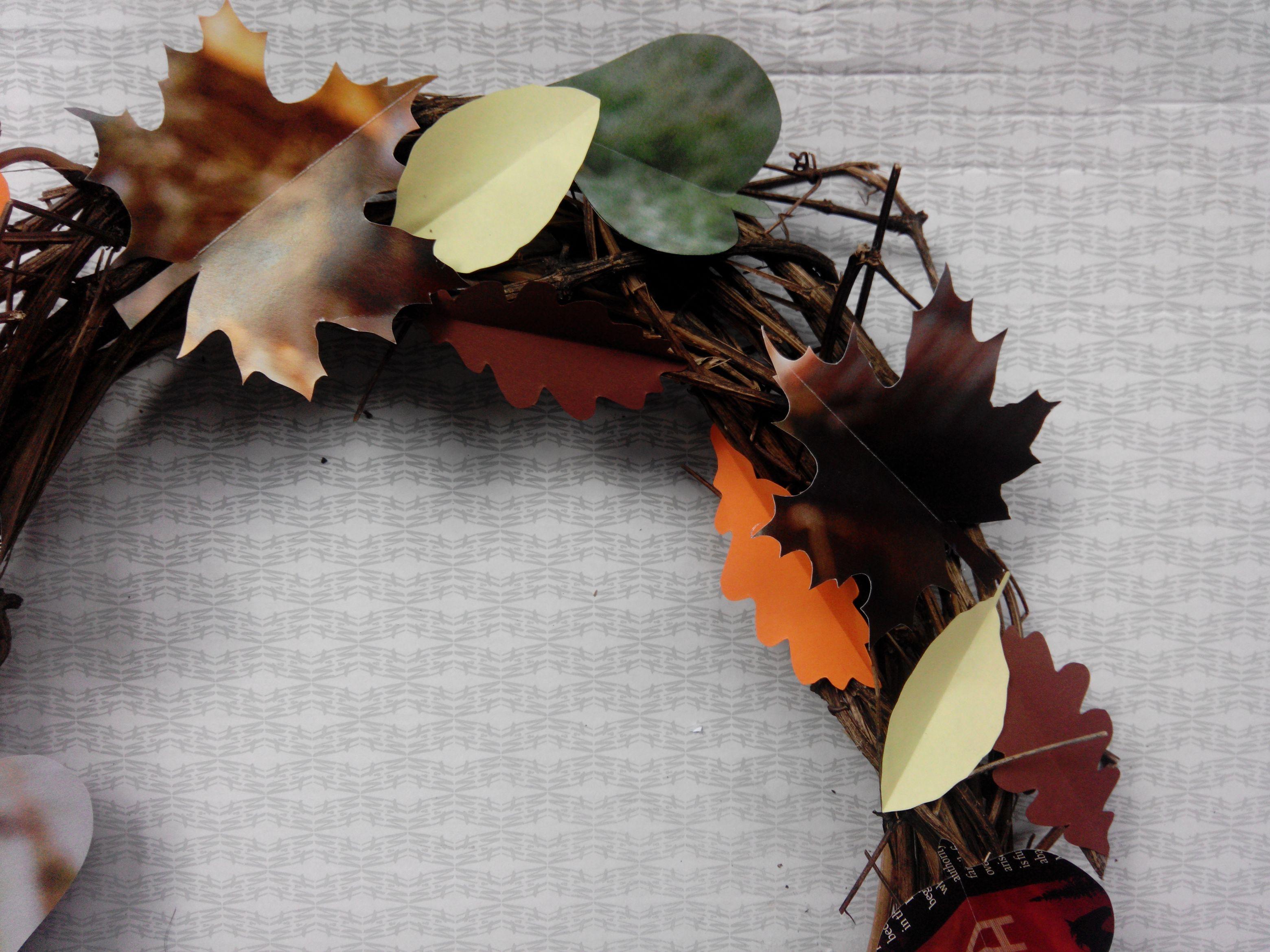 Ein neues Gewand - Ein Kranz für den Herbst | Skön och kreativ