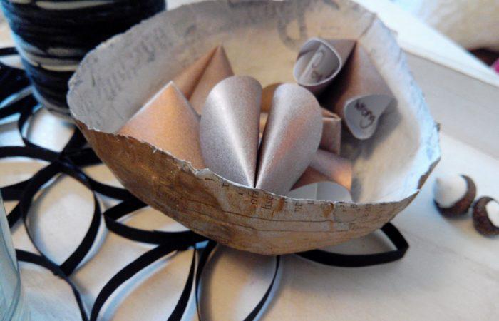 Advent, Advent # Türchen Nr. 9: Geschenkidee aus Papier