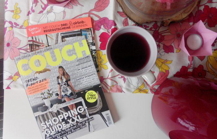 Montagslektüre # COUCH: Die Dinge, die wir lieben