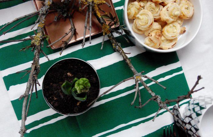 Schnelles zum Osterbrunch mit Blätterteig
