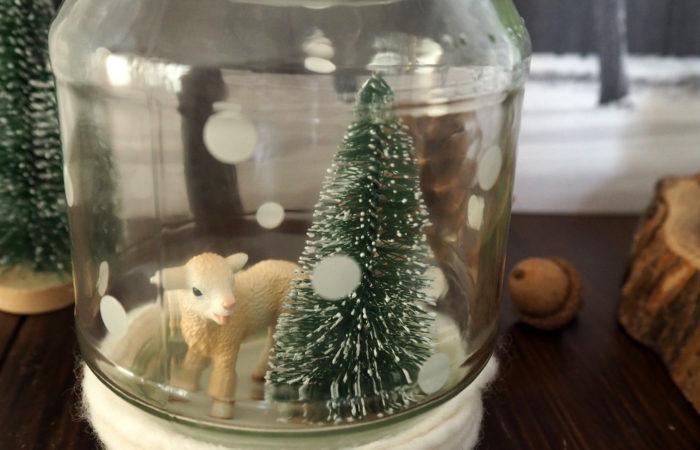Xmas in a Jar #18: Schneegestöber-Kugeln