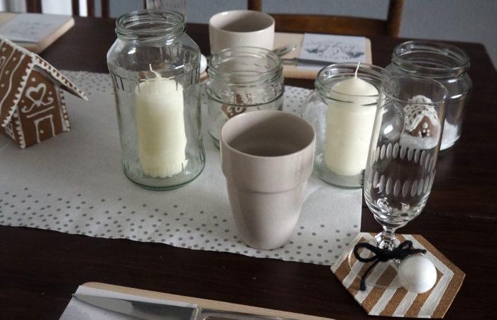 Xmas in a Jar #24: Tischdeko für den Xmas-Table