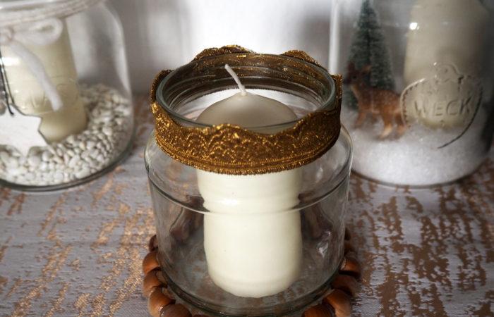 Xmas in a Jar #5: Ein kleines Windlicht