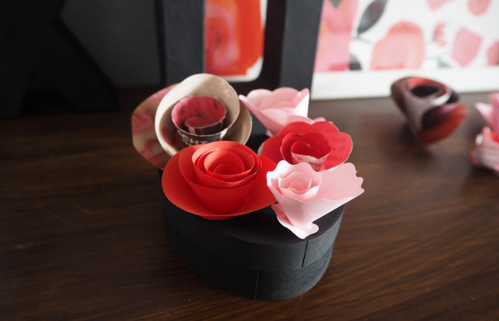 Wrapping Wednesday # In Love with Paper Roses