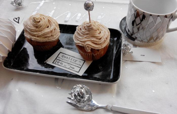 Winter-Cupcakes mit Apfel und Zimt