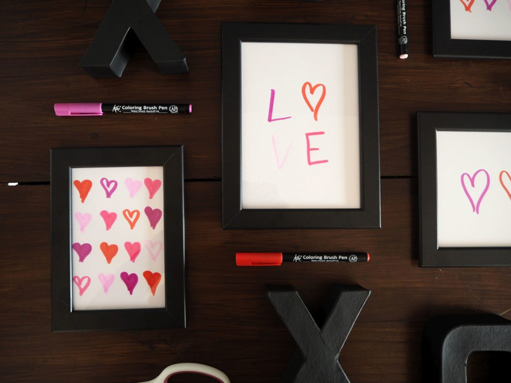 2017-skoen-och-kreativ-valentinstag-wandgestaltung-love-in-frames-brushpen (7)