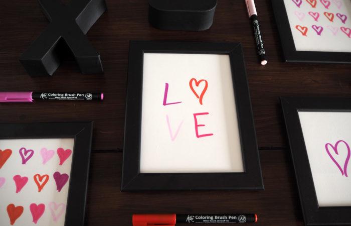 Love in Frames – Valentinstags-Kunst