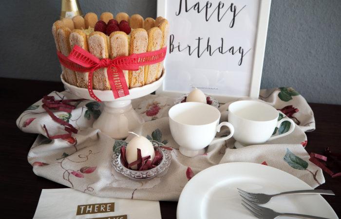 Osterfreuden # Himbeer-Mascarpone-Torte