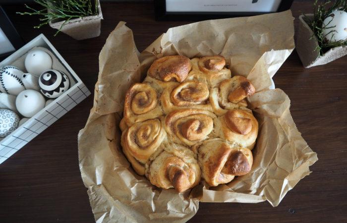 Osterfreude zum Frühstück # Schwedische Kanelbullar