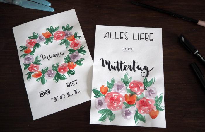 Malerische DIY-Idee zum Muttertag
