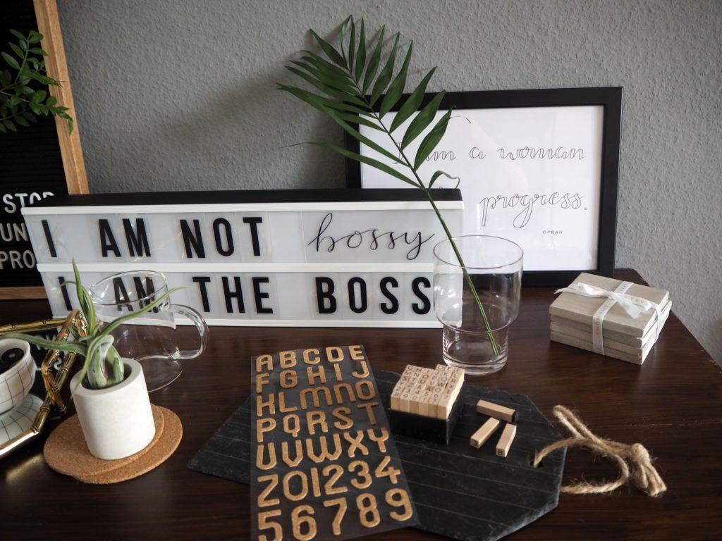 Interior Letterboard Oder Lightbox Die Besten Sprüche