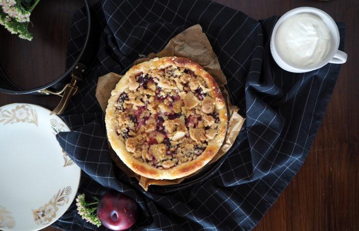 Pflaumen-Kuchen mit Quark-Öl-Teig
