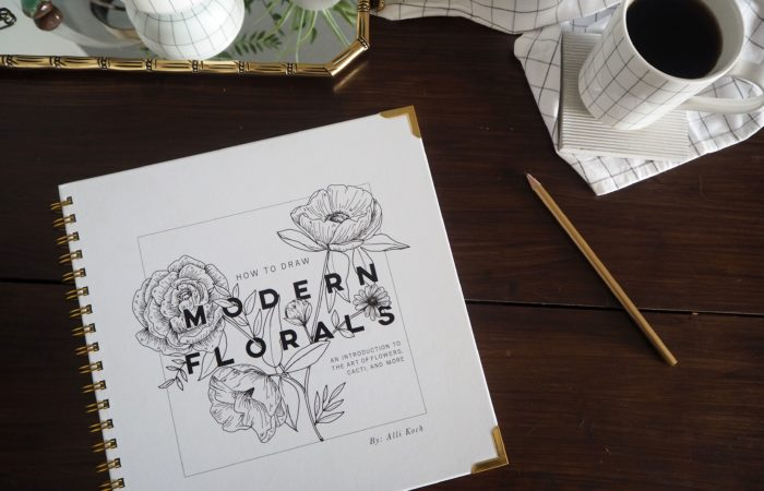 Sonntagslektüre # HOW TO DRAW MODERN FLORALS