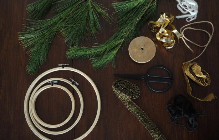 {DIY} Einfacher Kranz im Skandi-Style für den Advent