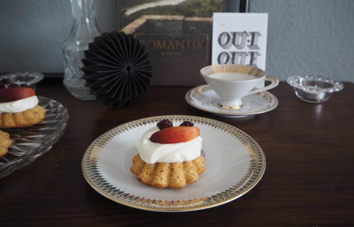 {FOOD} Mandel-Nuss-Cupcakes für den Frühsommer