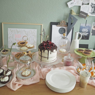 Sommerparty # Drinks, Kuchen & Kreatives