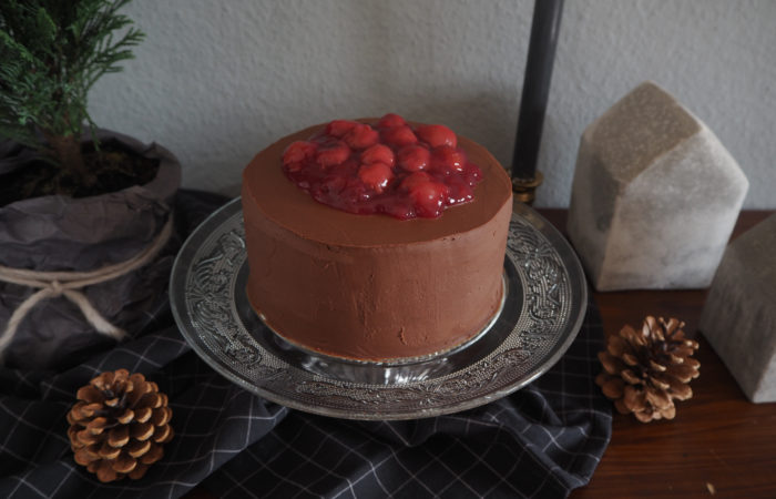 {FOOD} God Jul: Chocolate Cherry Cake