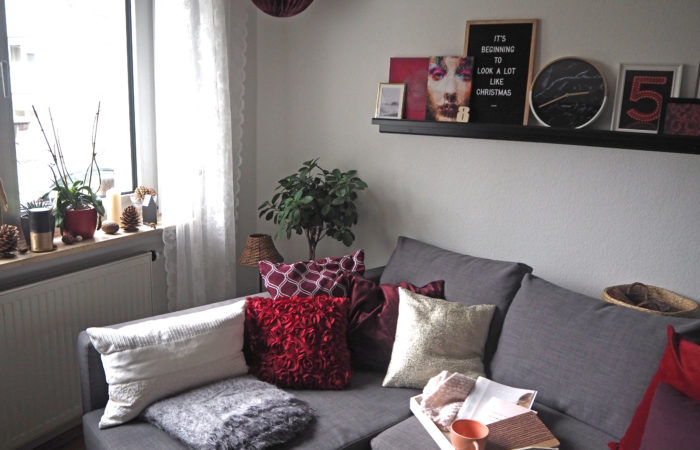 {Interior} God Jul: Klassisches Rot für's Wohnzimmer zu Weihnachten